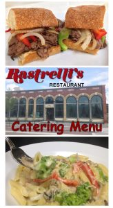 Rastrellis Catering Menu Cover